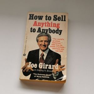 👔 How to Sell Anything to anyone Softcover Book